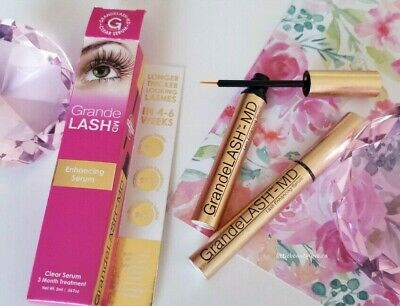 Grande Naturals GrandeLASH MD Eyelash Enhancer 2ml- FAST SHIPPING USA SELLER