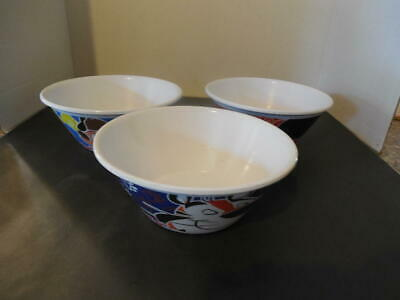 6 Kellogg's Plastic Cereal Bowls Corn Flakes, Rice Krispies, Fruit Loop ID:30284