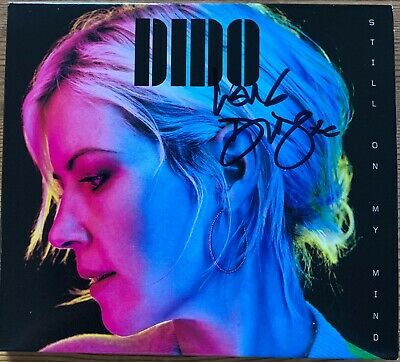 Dido Still On My Mind Hand Signed Autographed Cd Album New