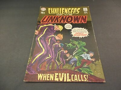 Challengers Of The Unknown #71 Jan 1970 Early Bronze Age DC              ID:5186