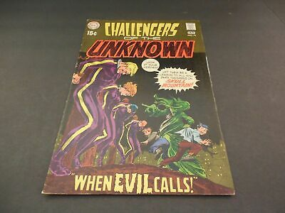 Challengers Of The Unknown #71 Jan 1970 Early Bronze Age DC              ID:5833