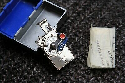 Rare Vintage Antique Miniature Autoknips 11 With Box Instructions.Mint-