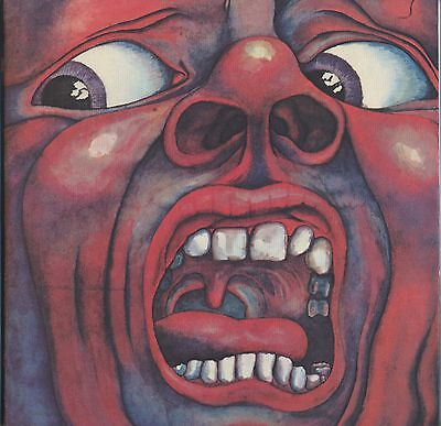King Crimson - In The Court Of The Crimson King JAPAN LP with LYRIC SHEET #2