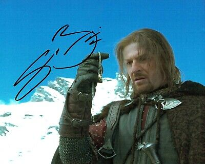 Sean BEAN Signed Autograph 10x8 Game of Thrones Ned Stark Photo AFTAL COA
