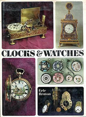 Bruton, Eric CLOCKS AND WATCHES 1968 Hardback BOOK