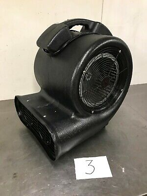 """Industrial 3 Speed Air Mover, Carpet Dryer, Air Blower, Turbo Fan With 12"""" 300mm"""