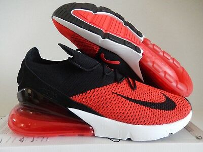 37517335738b Nike Air Max 270 Flyknit Chile Red-Black-Challenge Red Sz 13  Ao1023