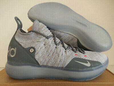 f9de0643a833 NIKE ZOOM KD11 Men s Shoes Wolf Grey Cool Grey Kevin Durant AO2604 ...