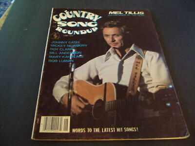 Country Song Roundup June 1977 Mel Tillis, Johnny Cash      ID:37539