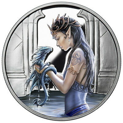 Anne Stokes Super 3D Lenticular A6 Notebooks Notepad Age Of Dragons Water Dragon