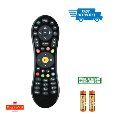 100% Genuine TiVo Remote,Virgin Media WITH 2 X AA BATTERIES INCLUDED