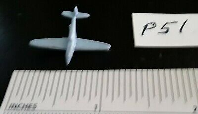 NOS 1946 Kix Cereal WW2 P-51 MUSTANG 1/432nd Blue Plastic Vintage Old Plane WWII