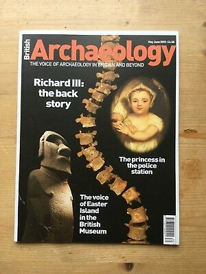 British Archaeology Magazine - Issue 130 - May/june 2013 - Vgc