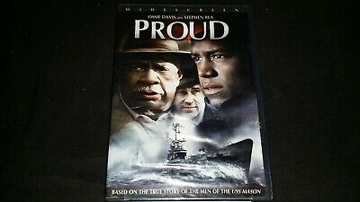 Proud Dvd Movie Video Film Ossie Davis Stephen Rea Based True Story Uss Mason