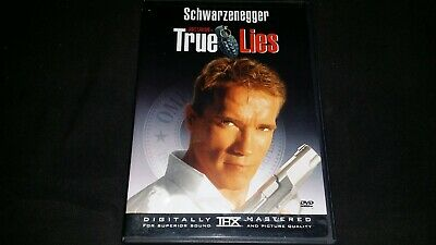 True Lies Dvd 1999 Movie Video Film Disc Arnold Schwarzenegger Jamie Lee Curtis