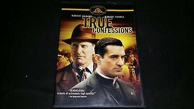 True Confessions Dvd 2007 Movie Video Film Drama Robert De Niro Robert Duvall