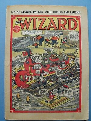 War Time Issue of The WIZARD Comic Sept 7th 1940