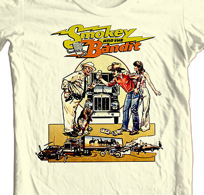 Adult Men/'s Comedy Film Smokey and the Bandit Bar-B-Q Your A*S Orange T-Shirt