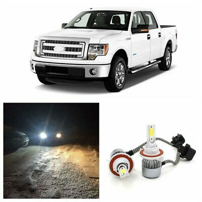 2x High Power 72W 7600LM LED Headlight Kit Hi Lo Beam for 04-14 Ford F150 F-150