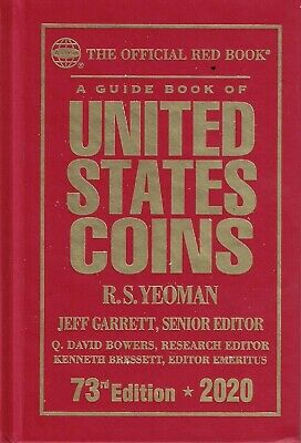 2020 Red Book of United States Coins Yeoman 73rd edition Hardcover Guide Book