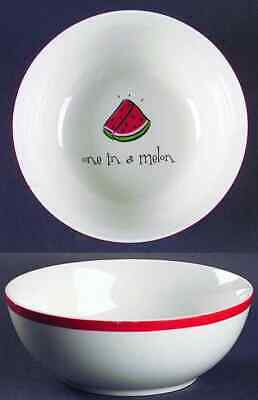 Gibson Designs EAT YOUR WORDS Soup Cereal Bowl 7015624