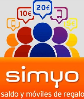 Invitacion Simyo Movil 10 EUR + 10 EUR Gratis