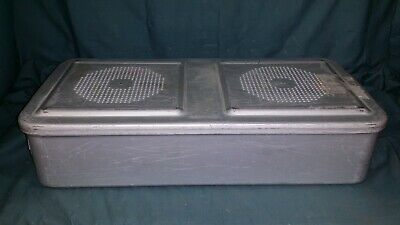 Aesculap Stainless 55X26X11Cm Sterilization Case Surgical Medical Dental Tattoo