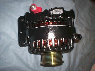 Ford E-Series Alternator 03 04 05 6.0L V8 Diesel Black Excursion 05 6.0L Diesel