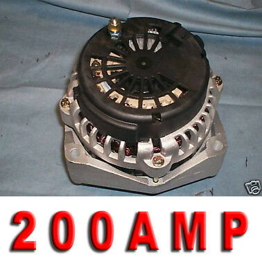 HIGH AMP ALTERNATOR Hummer Cadillac Chevy Tahoe 2000 2001 2002 2003 2004 AD244