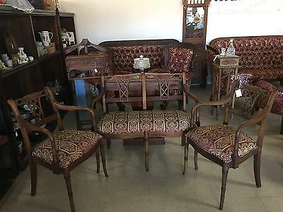 3PC Victorian Sofa Set