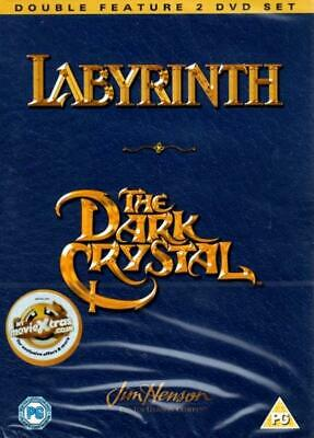 Labyrinth/The Dark Crystal (Nuevo y sin Abrir 2 DVD Set / Jim Henson)