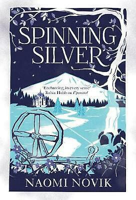 Spinning Silver by Naomi Novik Hardcover Book Free Shipping!