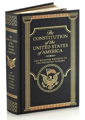 The Constitution of the United States ~ Leather Bound Collectible Edition New