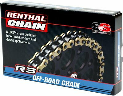 Renthal 520 R3-3 Srs O-Ring Kette 114 Links Gold (C428