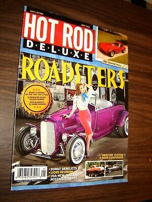 HOT ROD DELUXE Magazine Olds Powered Willys Gasser January