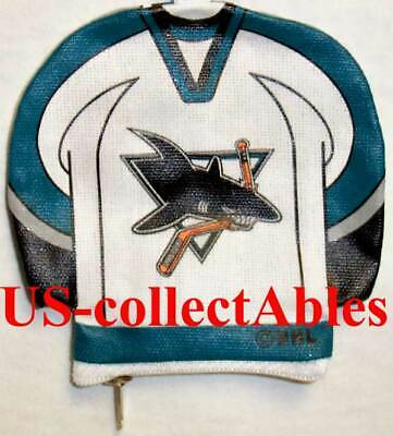 NHL Hockey San Jose Sharks Jersey I.D. Holder NEW Souvenir Collectibles Gifts