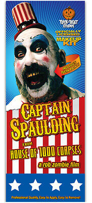 Authentic HOUSE OF 1000 CORPSES Captain Spaulding Make-Up Kit NEW