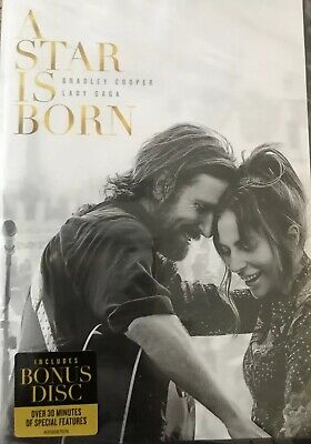 """""""A STAR IS BORN"""" (DVD,2018)  Sealed New"""