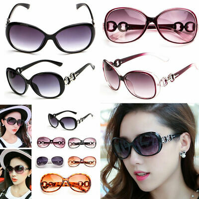 Ladies Eyewear Retro Vintage Oversized Women Fashion Designer Sunglasses Glasses