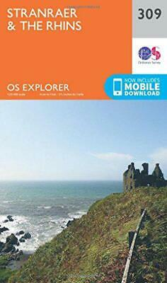 OS Explorer Map (309) Stranraer and the Rhins by Ordnance Survey, NEW Book, FREE