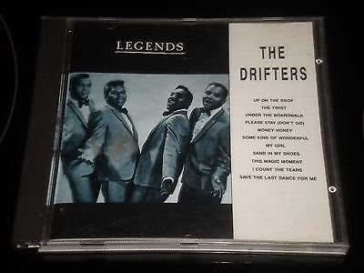 The Drifters - Legends In Music - Album CD - 11 Excellents Titres
