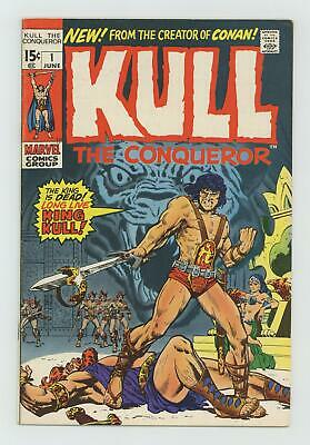 Kull the Conqueror (1st Series) #1 1971 FN 6.0