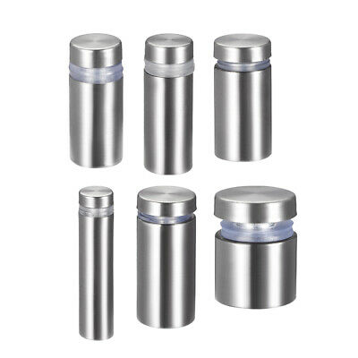Glass Standoff Mount Stainless Steel Wall Standoff Holder Advertising Nails 6pcs