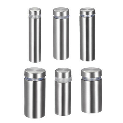 Glass Standoff Mount Stainless Steel Wall Standoff Holder Advertising Nails 8pcs