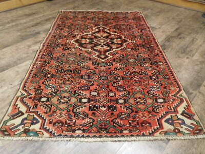 C1940 ANTIQUE PERSIAN JOZAN LILIHAN MALLAYER SAROUK 3.6x5.7 ESTATE SALE RUG