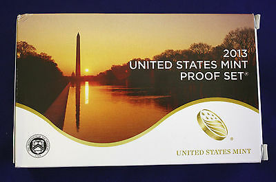 2013-s U.S. Clad 14 Coin Proof Set. 3 sets in 1. Proof Set, .25 set & $1 set