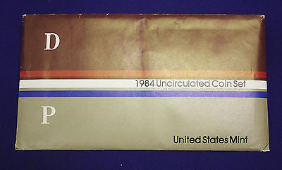 1984 UNCIRCULATED Genuine U.S. MINT SETS ISSUED BY U.S. MINT