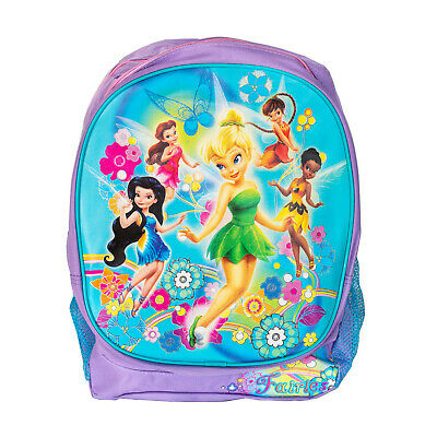 fad7528c895 Disney Tinkerbell and Fairy Friends Kids Backpack School Bag Travel 16