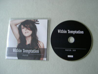WITHIN TEMPTATION Faster promo CD single