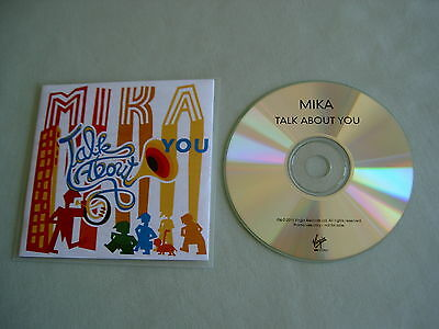 MIKA Talk About You promo CD single